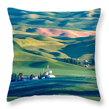 Steptoe View Throw Pillow