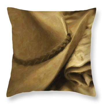 Stetson Throw Pillow