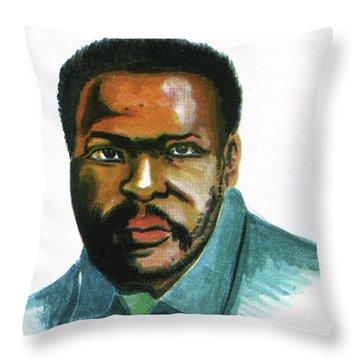 Steve Biko Throw Pillow