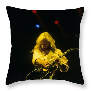 Steve Clark Throw Pillow