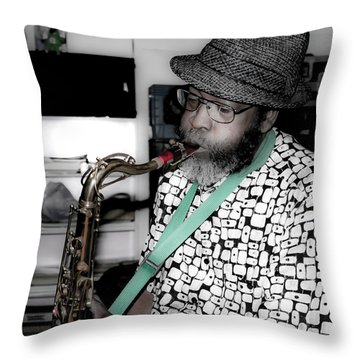 Steve Gundhi Throw Pillow