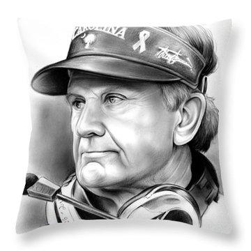 Coaches Throw Pillows