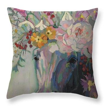 Steven's Bouquet Throw Pillow
