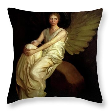 Stevenson Memorial Throw Pillow