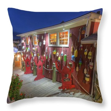 Throw Pillow featuring the photograph Stewman's  by Paul Schultz