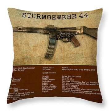Stg 44 Sturmgewehr 44 Throw Pillow