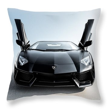 Stick 'em Up Throw Pillow