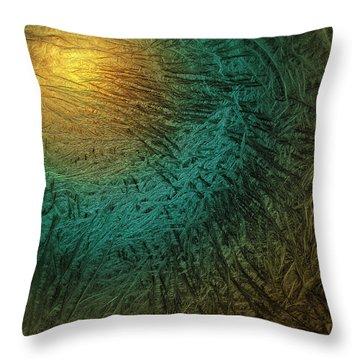 Stiff Breeze Throw Pillow