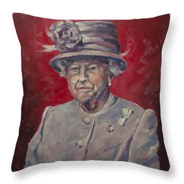 Stiff Your Upperlip And Carry On Throw Pillow