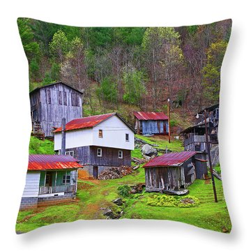 Stike Holler Throw Pillow