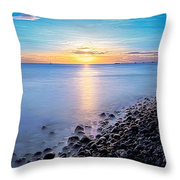 Stiletto Shore Throw Pillow