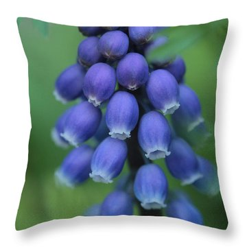 Still Blooming  Throw Pillow