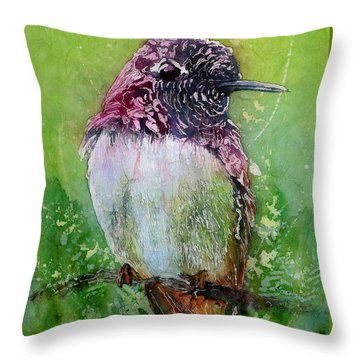 Still For A Moment II Throw Pillow