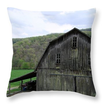 Still Has A Purpose Throw Pillow