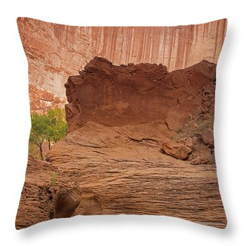 Still Here With You Throw Pillow