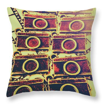Still In Film Throw Pillow