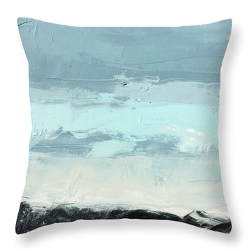 Still. In The Midst Throw Pillow