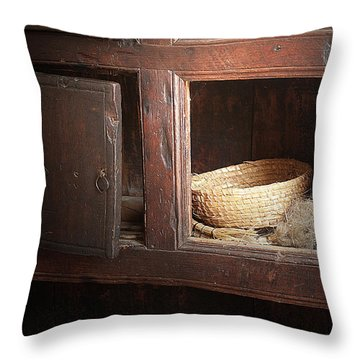 Still In The Past Throw Pillow