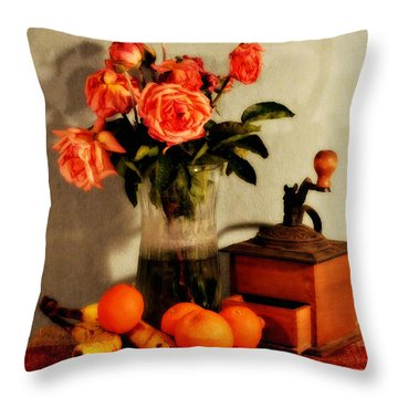 Throw Pillow featuring the photograph Still Life - Aging by Glenn McCarthy Art and Photography