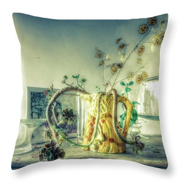 Throw Pillow featuring the photograph Still, Life Goes On by Wayne Sherriff