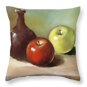 Still Life I Throw Pillow by Han Choi - Printscapes