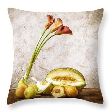 Still Life II Throw Pillow