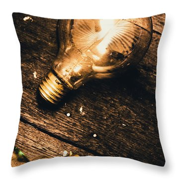 Still Life Inspiration Throw Pillow