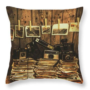 Equipment Throw Pillows