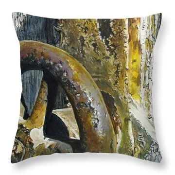 Still Life Time Throw Pillow