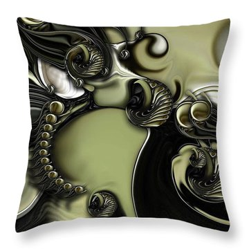 Still Life With Confused Movement Throw Pillow