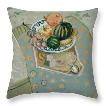 Still Live  Throw Pillow by Pierre Van Dijk