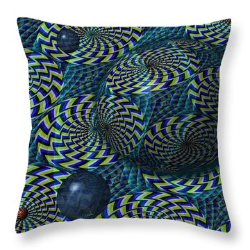 Still Motion Throw Pillow