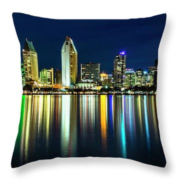 Throw Pillow featuring the photograph Still Of The Night by Dan McGeorge