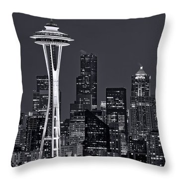 Seattle Throw Pillows