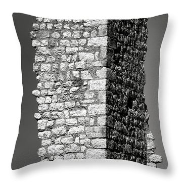 Still Standing Throw Pillow by Olivier Le Queinec