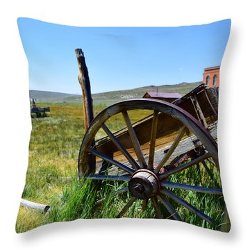 Still Standing Throw Pillow