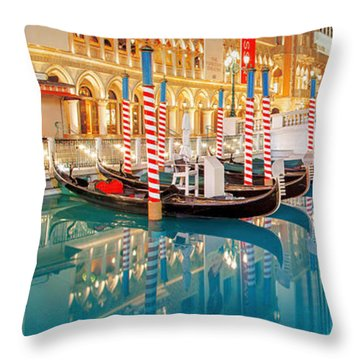 Still Waters Throw Pillow by Az Jackson