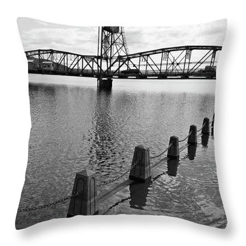Still Waters In Stillwater Throw Pillow