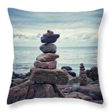 Still Zen Throw Pillow by Karen Stahlros