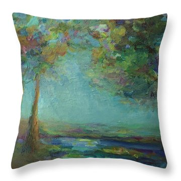 Stillness Throw Pillow