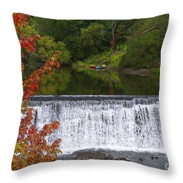 Stillness Of Beauty Throw Pillow