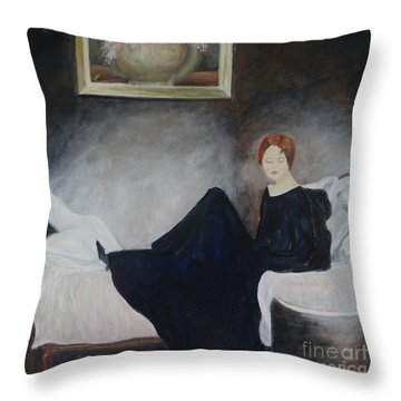 Stillness Of Being Throw Pillow