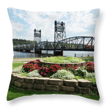 Stillwater And The Mississippi Throw Pillow