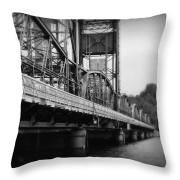 Stillwater Bridge  Throw Pillow