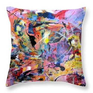 Stimuli Throw Pillow