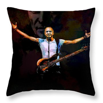 Sting 1 Throw Pillow