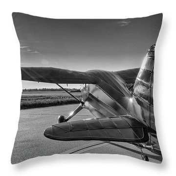 Stinson On The Ramp Throw Pillow
