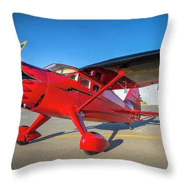 Stinson Reliant Rc Model 03 Throw Pillow