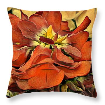 Stock Magic Throw Pillow
