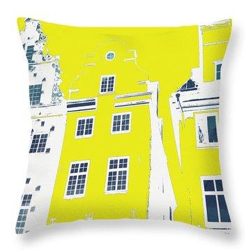 Stockholm Windows Throw Pillow